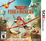 Disney Planes - Fire & Rescue 3DS cover (BPRE)