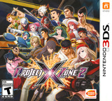 Project X Zone 2 3DS cover (BX2E)
