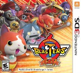 Yo-Kai Watch Blasters: Red Cat Corps 3DS cover (BYAE)