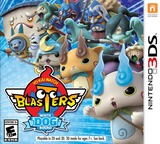 Yo-Kai Watch Blasters: White Dog Squad 3DS cover (BYBE)