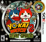 Yo-Kai Watch 2: Bony Spirits 3DS cover (BYGE)