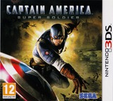 Captain America - Super Soldier 3DS cover (ACAP)
