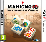 Mahjong 3D - Warriors of the Emperor pochette 3DS (AMZP)