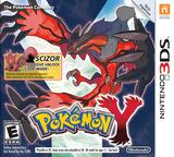 Pokémon Y 3DS cover (EK2E)