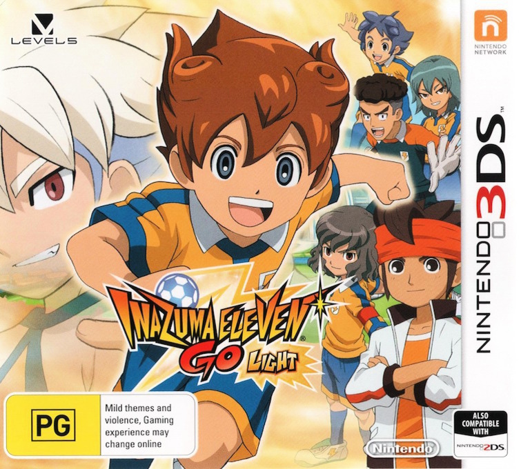 Inazuma Eleven Go - Light 3DS coverHQ (AE4P)
