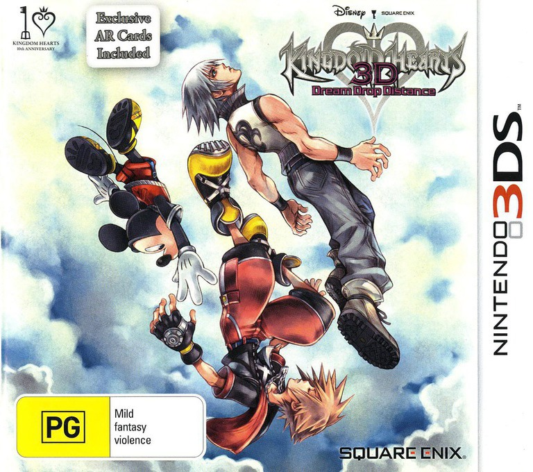 Kingdom Hearts 3D - Dream Drop Distance 3DS coverHQ (AKHP)