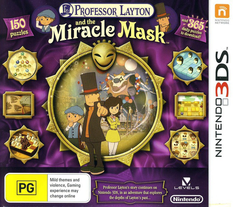 Professor Layton and the Miracle Mask 3DS coverHQ (AKKP)