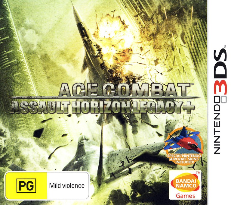 Ace Combat - Assault Horizon Legacy+ 3DS coverHQ (BCRP)