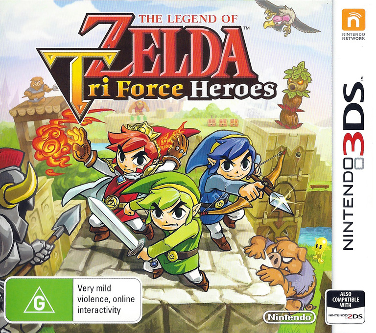 The Legend of Zelda - Tri Force Heroes 3DS coverHQ (EA3P)