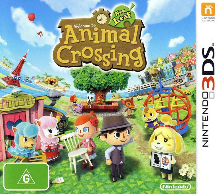 Animal Crossing - New Leaf 3DS coverHQ (EGDP)