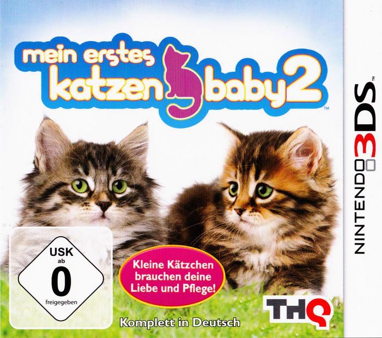 Meine ersten Katzenbabys 2 3DS coverHQ (AP6P)