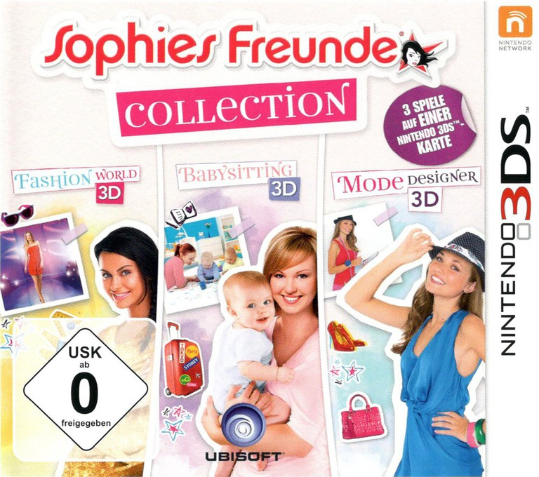 Sophies Freunde Collection 3DS coverHQ (BCLP)