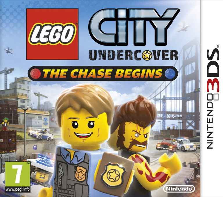 LEGO City Undercover - The Chase Begins 3DS coverHQ (AA8P)