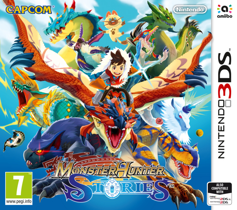 Monster Hunter Stories 3DS coverHQ (AAHP)