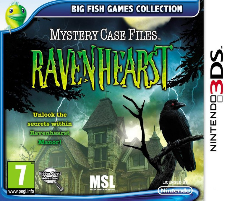 Mystery Case Files - Ravenhearst 3DS coverHQ (AAQP)