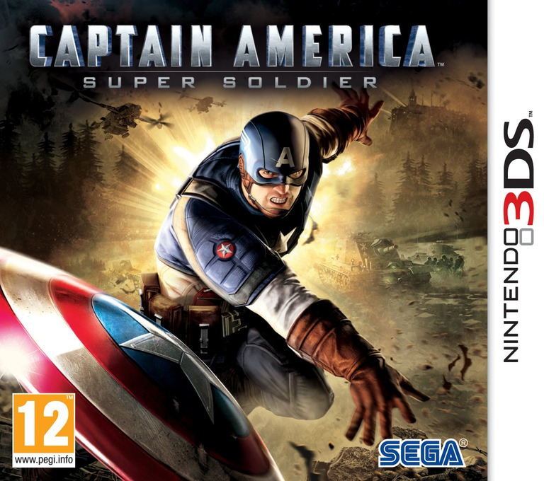 Captain America - Super Soldier 3DS coverHQ (ACAP)