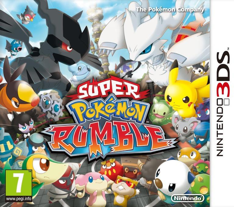 Super Pokémon Rumble 3DS coverHQ (ACCP)