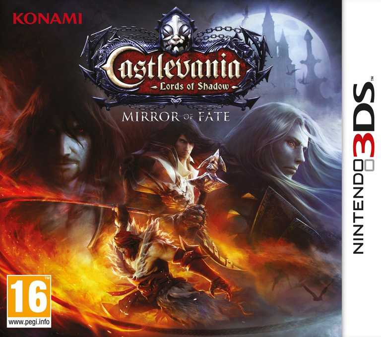 Castlevania - Lords of Shadow - Mirror of Fate 3DS coverHQ (ACFP)