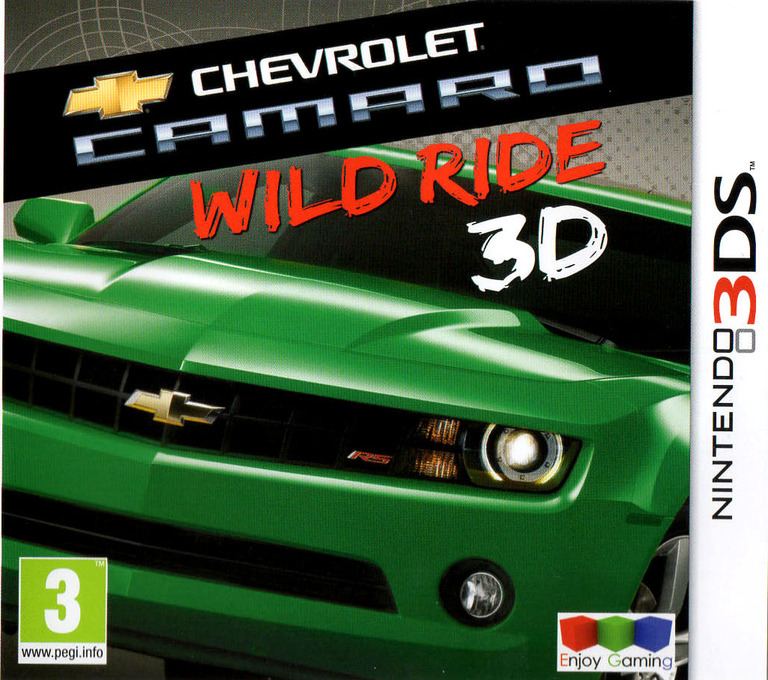 Chevrolet Camaro - Wild Ride 3D 3DS coverHQ (ACWP)