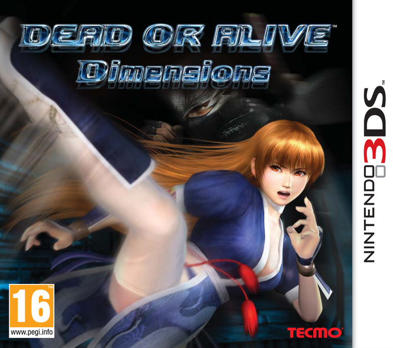 Dead or Alive - Dimensions 3DS coverHQ (ADDP)