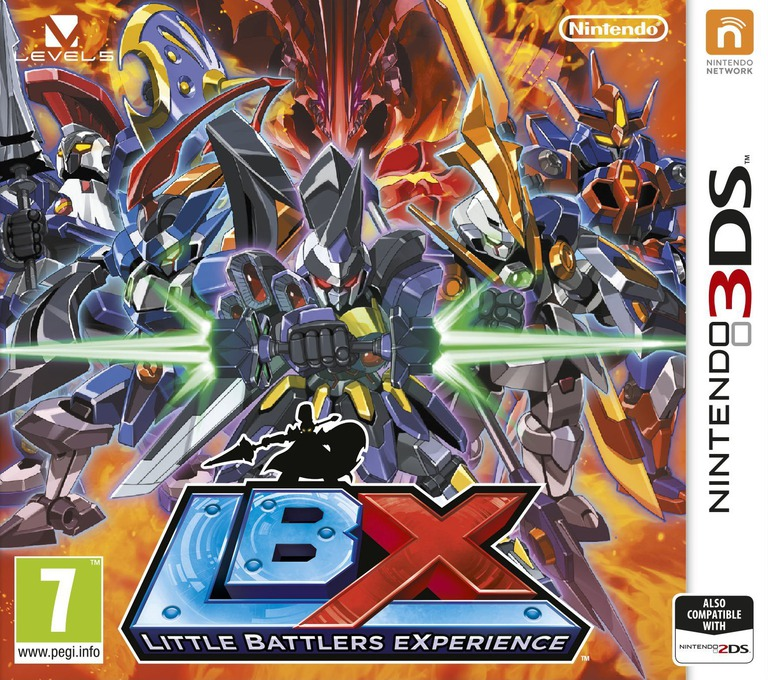 LBX - Little Battlers eXperience 3DS coverHQ (ADNZ)