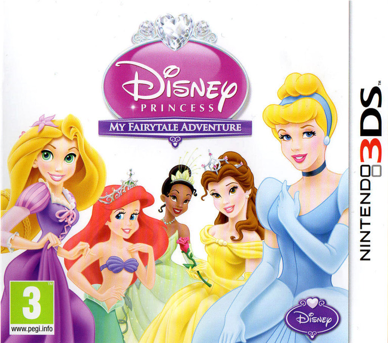 Disney Princess - My Fairytale Adventure 3DS coverHQ (ADPP)