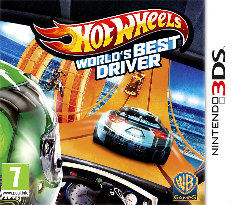 Hot Wheels - World's Best Driver 3DS coverHQ (AEAP)