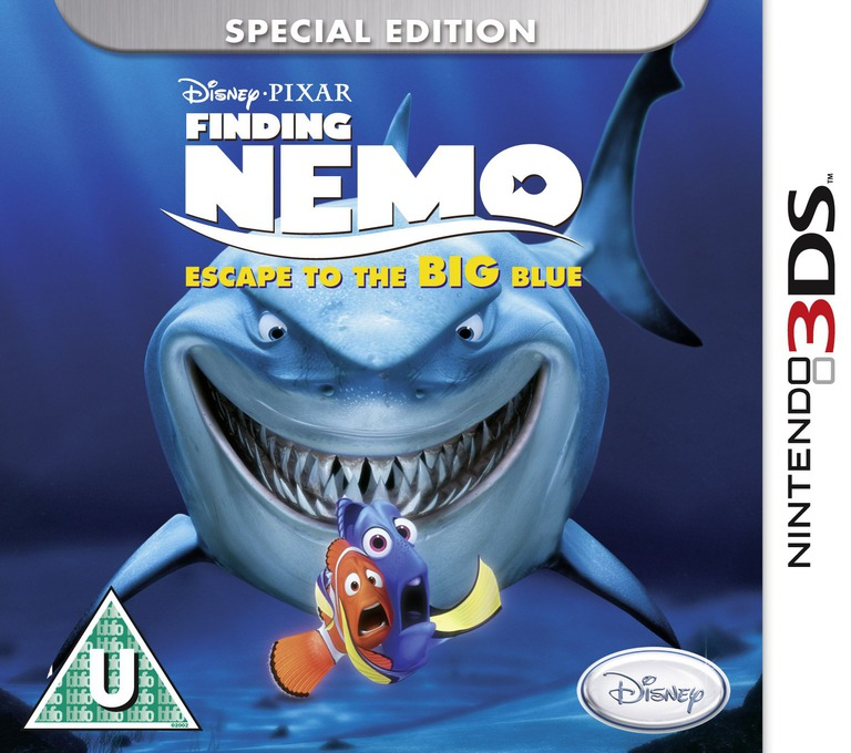 Finding Nemo - Escape to the Big Blue - Special Edition 3DS coverHQ (AF7X)