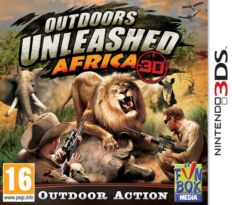 Outdoors Unleashed - Africa 3D 3DS coverHQ (AFKP)