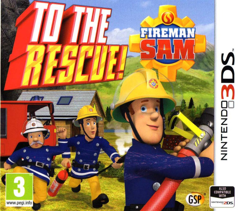 Fireman Sam - To The Rescue! 3DS coverHQ (AFTP)
