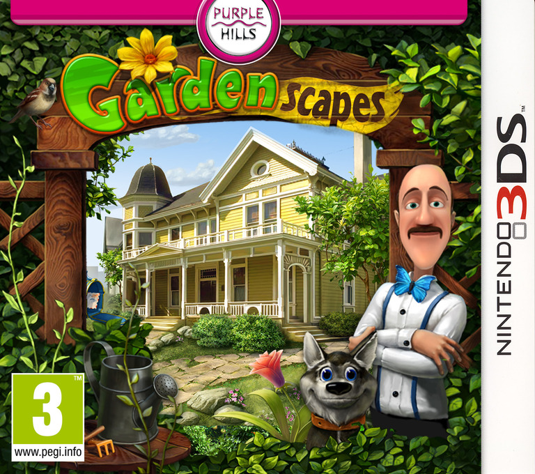 Gardenscapes 3DS coverHQ (AG8P)