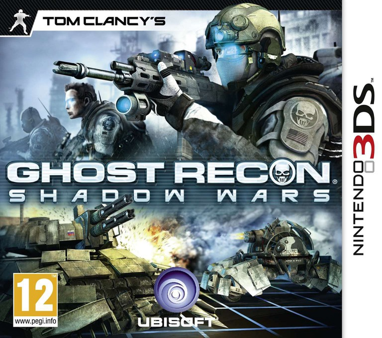 Tom Clancy's Ghost Recon - Shadow Wars 3DS coverHQ (AGRP)
