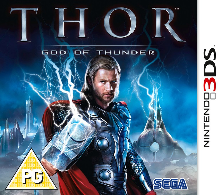 Thor - God of Thunder 3DS coverHQ (AGTP)