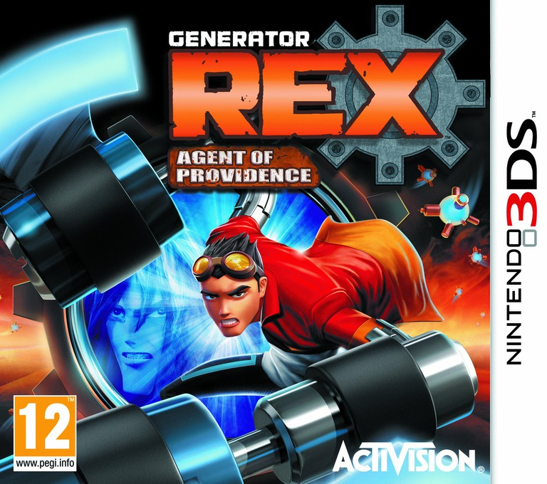 Generator Rex - Agent of Providence 3DS coverHQ (AGXP)
