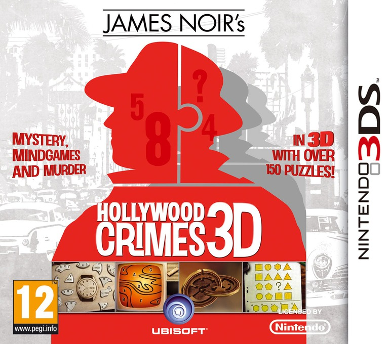 James Noir's Hollywood Crimes 3D 3DS coverHQ (AHCP)