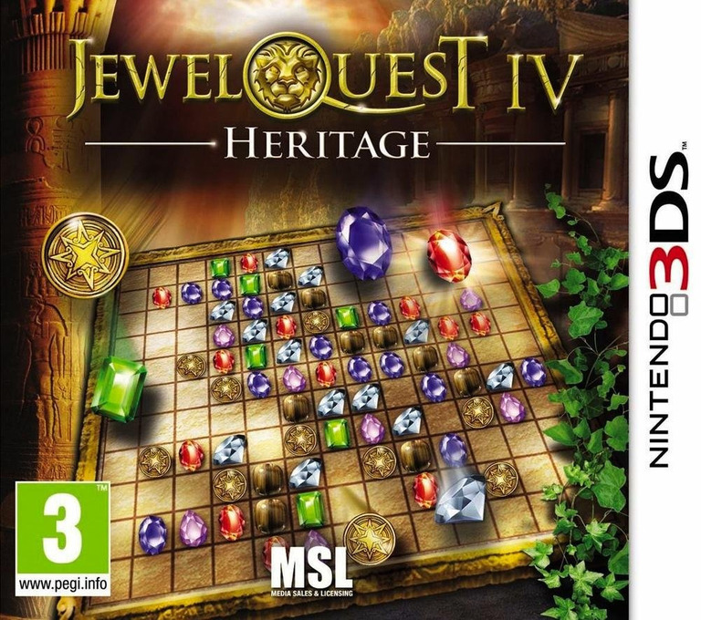 Jewel Quest IV - Heritage 3DS coverHQ (AJ4P)