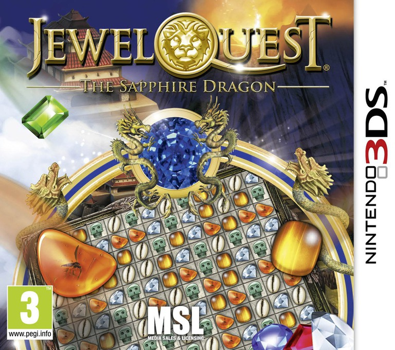 Jewel Quest - The Sapphire Dragon 3DS coverHQ (AJ6P)