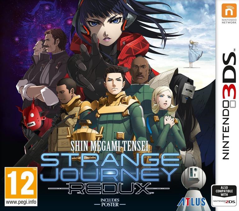 Shin Megami Tensei: Strange Journey Redux 3DS coverHQ (AJ9P)