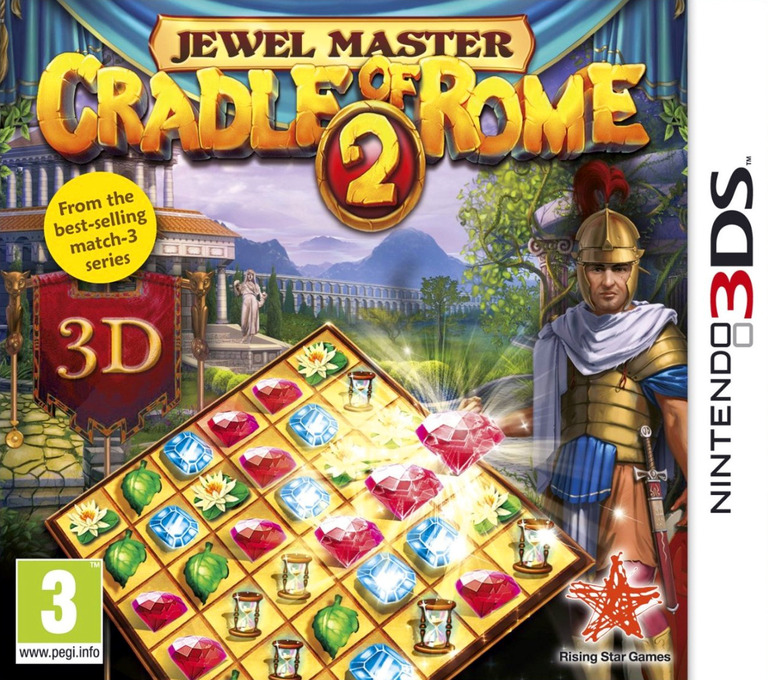 Jewel Master - Cradle of Rome 2 3DS coverHQ (AJLZ)