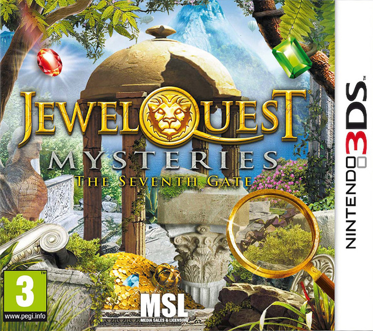 Jewel Quest Mysteries - The Seventh Gate 3DS coverHQ (AJQP)