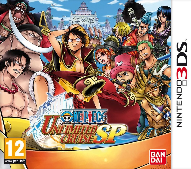 One Piece - Unlimited Cruise SP 3DS coverHQ (ALFP)