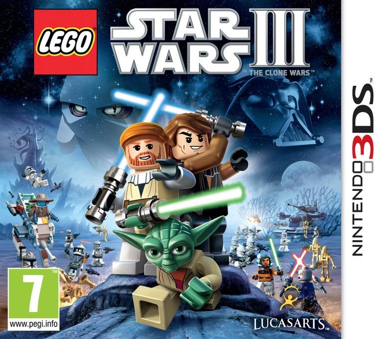 LEGO Star Wars III - The Clone Wars 3DS coverHQ (ALGP)