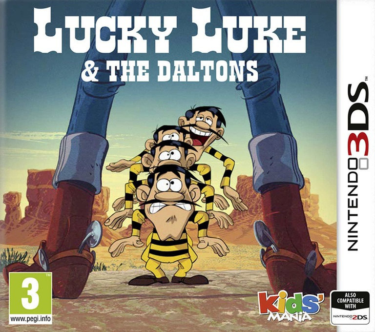 Lucky Luke & The Daltons 3DS coverHQ (ALJP)