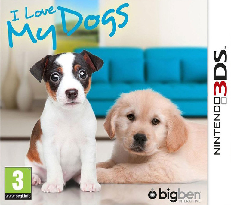 I Love My Dogs 3DS coverHQ (ALWP)