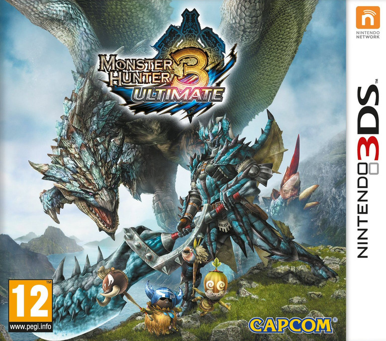 Monster Hunter 3 Ultimate 3DS coverHQ (AMHP)