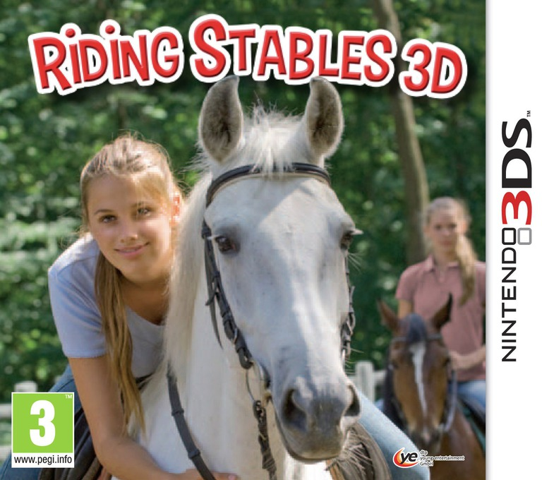 Riding Stables 3D 3DS coverHQ (AMUP)