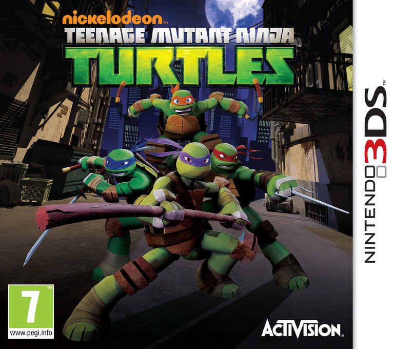 Nickelodeon Teenage Mutant Ninja Turtles 3DS coverHQ (ANYP)