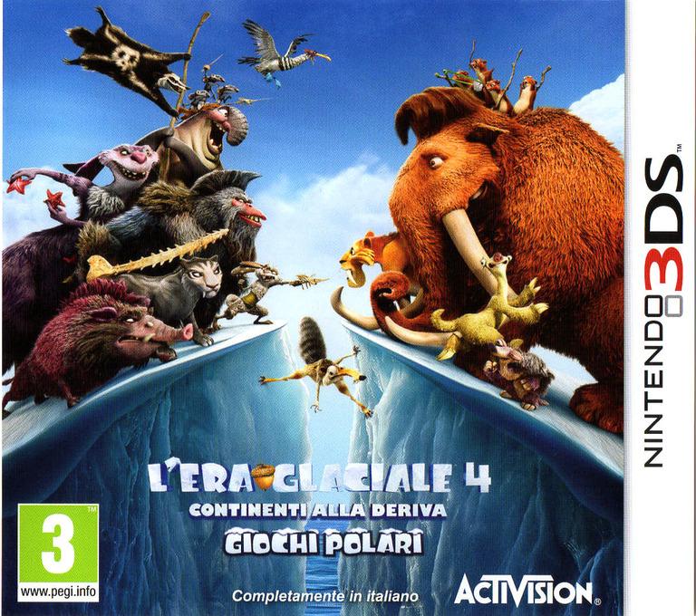 L'Era Glaciale 4 - Continenti alla Deriva - Giochi Polari 3DS coverHQ (AQLI)