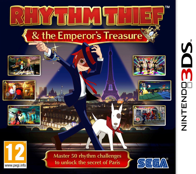 Rhythm Thief & the Emperor's Treasure 3DS coverHQ (ARTP)