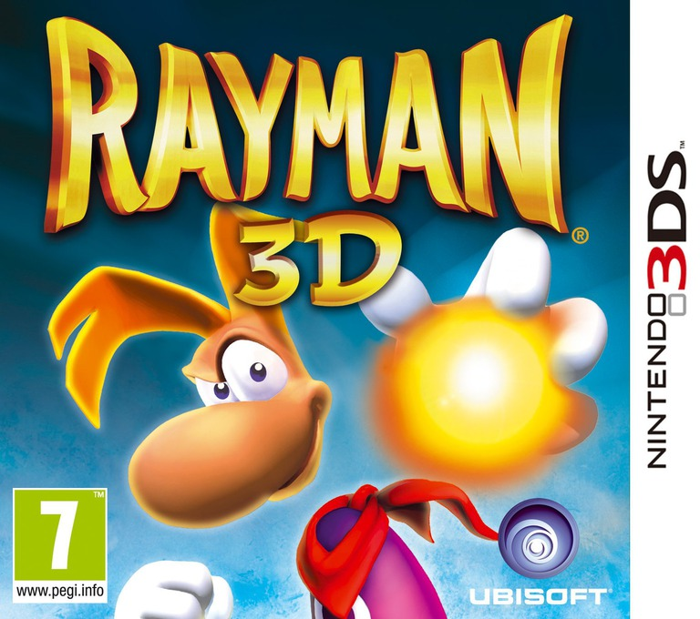 Rayman 3D 3DS coverHQ (ARYP)